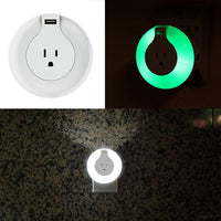 Electronics - MAX Smart Home Safety LED Night Light With USB Charger And Emergency Alert Light