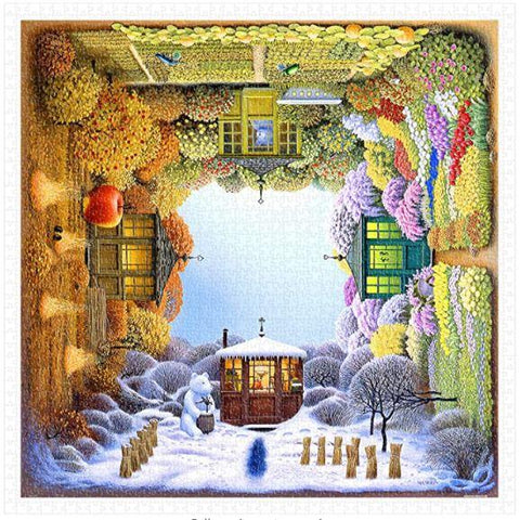 """FOUR SEASONS"" - 1000 Pieces Jigsaw Puzzle"
