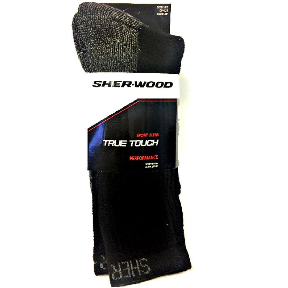 Fashion - 3 Pairs: SHER-WOOD True Touch Men's Socks