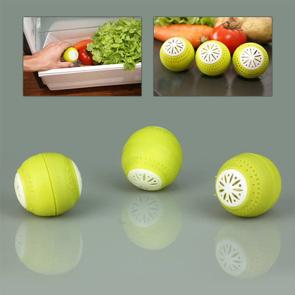 Eco-Friendly Fridge Balls Odor Remover