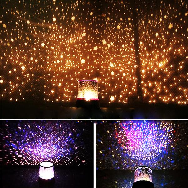 Gadgets - Star & Universe Galactic Projector Lamp