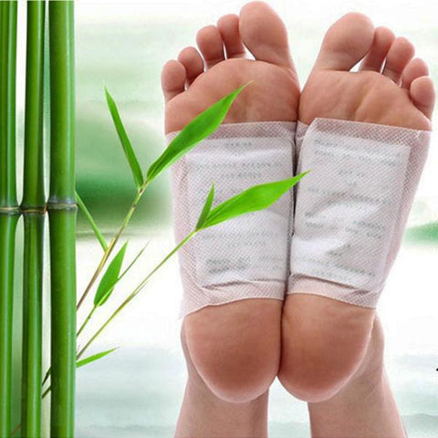 Health - 10 Pack: Organic Herbal Cleansing Detox Foot Pads