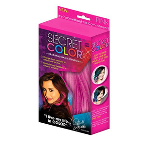 Health & Beauty - Secret Color Headband Hair Extensions