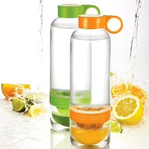 Health - Citrus Zinger Fruit Infuser Portable Water Bottle - 3 Colors Available!
