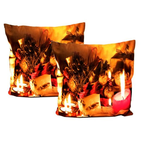 "Holiday - ""Feliz Navidad"" Festive Holiday Decor Toss Cushion"