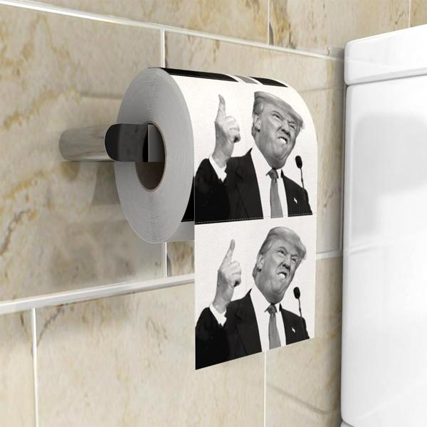 Home - Donald Trump Toilet Paper Gag Gift - Multi-Packs Available!