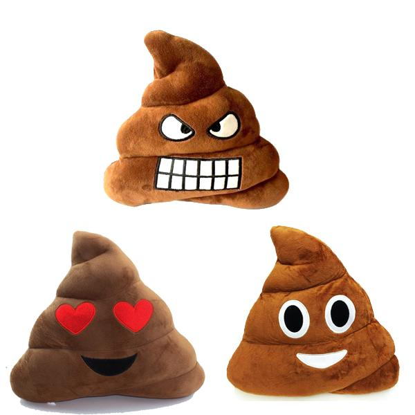 Home - Emoji Poop Decorative Pillow - 3 Styles Available!
