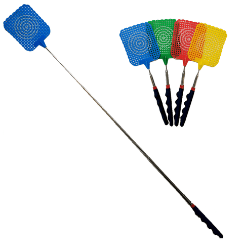 "Home - Extendable 10"" To 29"" Telecopic Fly Swatter - 4 Colors Available!"