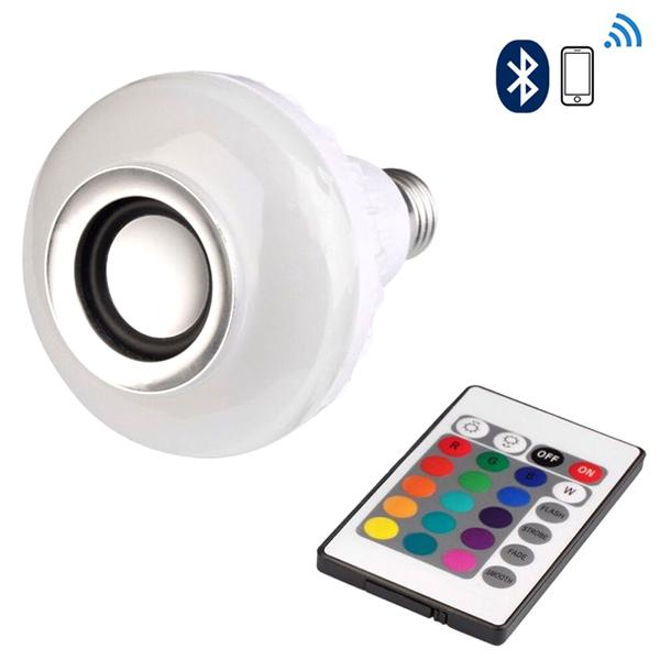 Home - LED Smart Light Bulb With Built-In Bluetooth Speaker