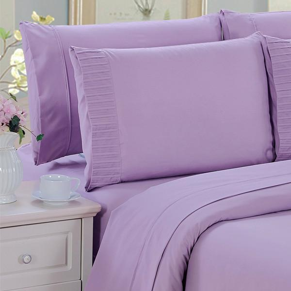 """Luxury 6-Piece Deep-Pocket Bamboo Bed Sheet Set"" - FREE SHIPPING!"