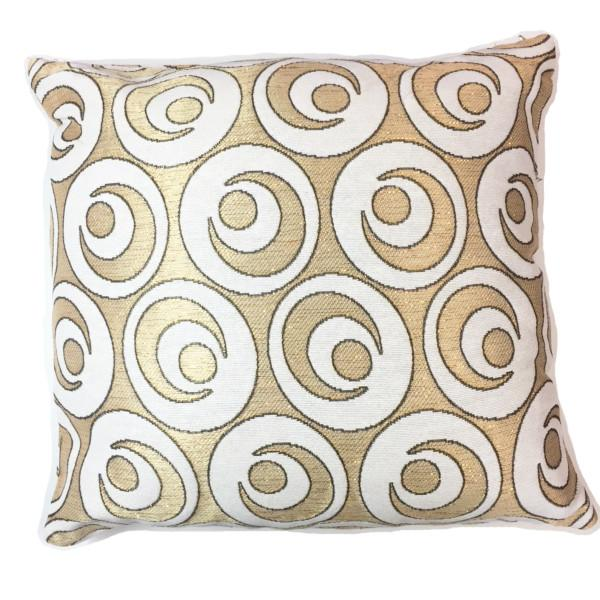 Home - Set Of 2: Crescent Shine Decorative Cushion - 4 Colors Available