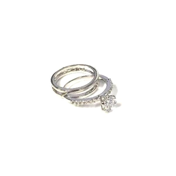 Jewelry - 2-Piece Set: Interlocking Gemstone Ring