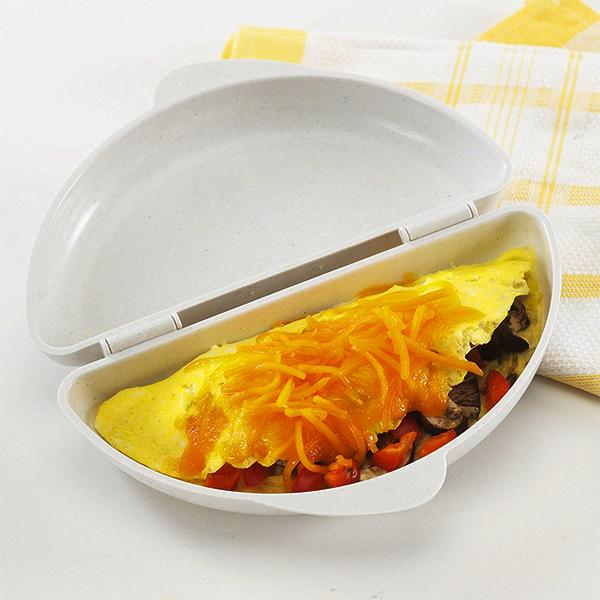 Kitchen - 2-in-1 Easy Egg Poacher & Omelet Cooker