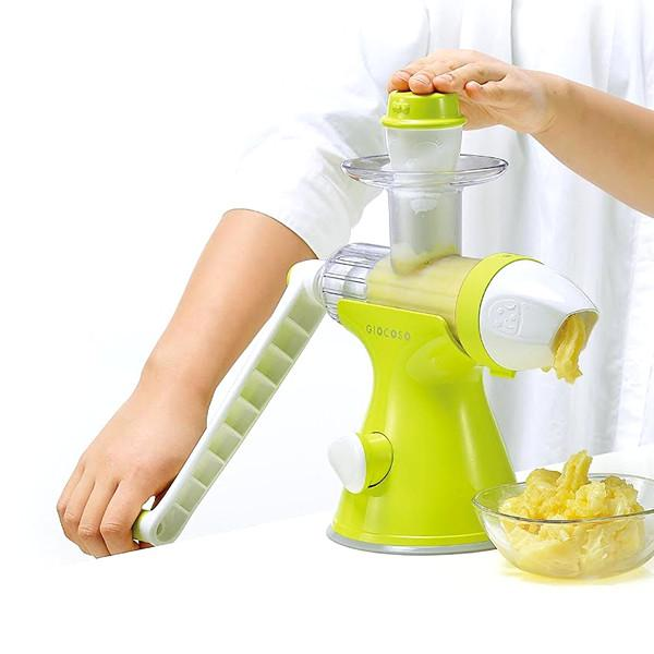 Making Ice Cream With Slow Juicer : 2-in-1 Slow Juicer & Fruit Ice Cream Maker - eFizzle