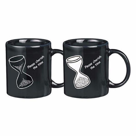 Kitchen - Cherish The Time - Hourglass Color & Graphic Changing Mug