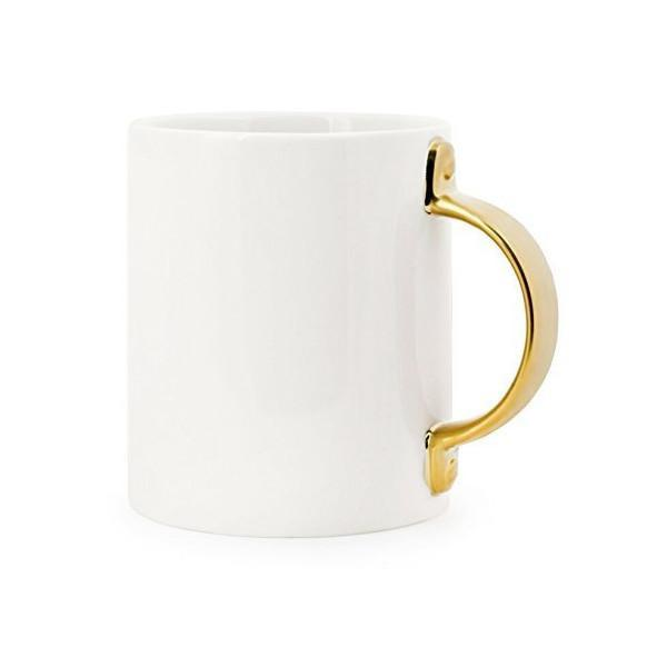 Kitchen - Golden Door Handle Coffee Mug