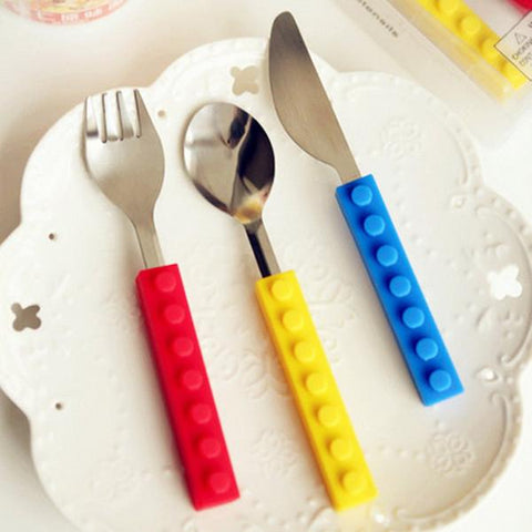 Kitchen - Lego Snack & Stack Cutlery Set
