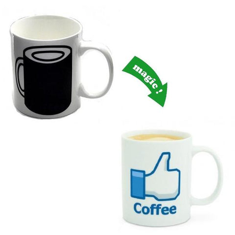 Kitchen - LIKE Coffee Colour & Graphic Changing Mug