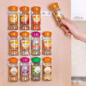 Kitchen - Multipurpose Stick N Clip Spice Cabinet Organizer