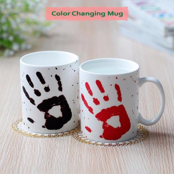 Kitchen - Palm Print Color Changing Mug