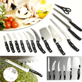 13-Piece Flash Forged Stainless Steel Knife Set With All-New Perfectly Balanced Handles
