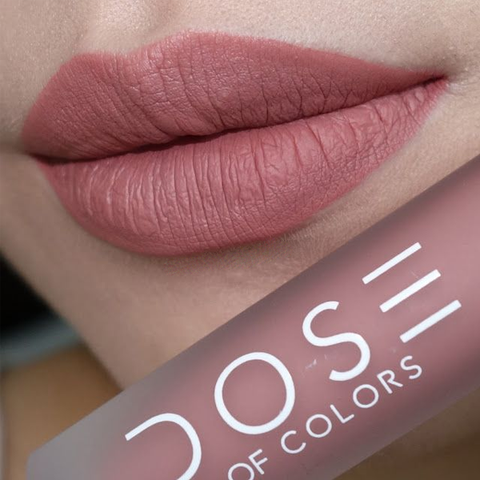 DOSE OF COLORS Liquid Matte Lipsticks