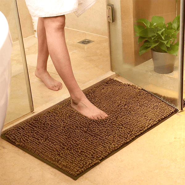 Multi-Purpose Non-Slip Super Absorbent Microfiber Doormat