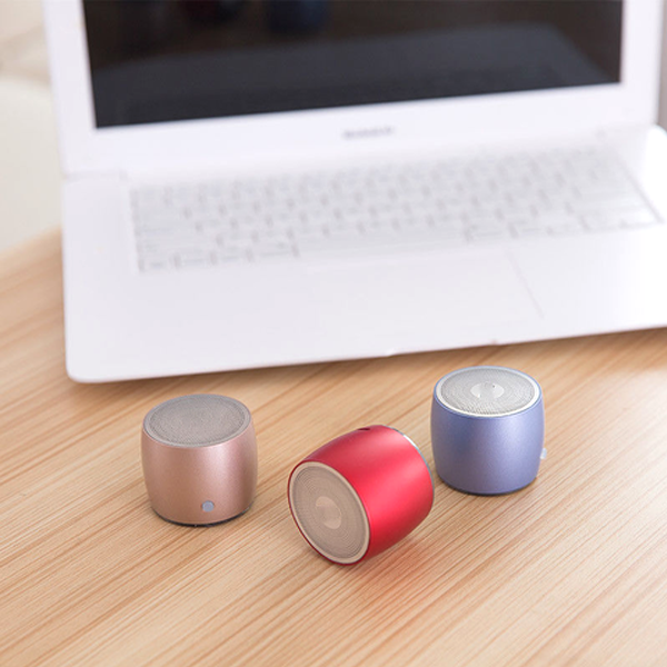 Portable Mini Bluetooth Speaker - 4 Colors Available