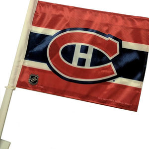 NHL - Montreal Canadiens Double-Sided NHL Officially Licensed Car Flag