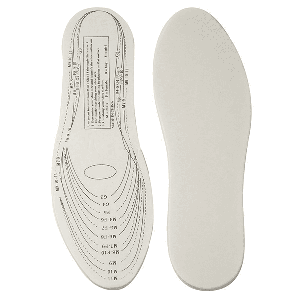 Buy 1 Get 2 Free For Only $14.99! Custom-Fit Unisex Therapeutic Memory Foam Insoles