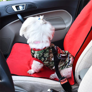 Water Resistant Single Pet Seat Cover - Multi Packs Available!