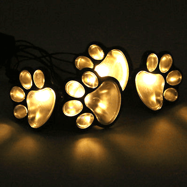 Power Paws Whimsical Solar-Powered Decorative Garden Lights - Multi-Packs Available!