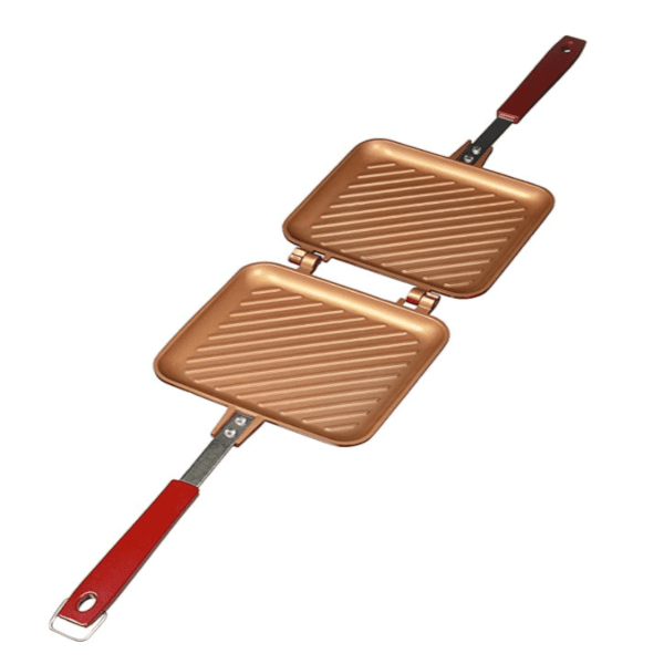Double Chambered Grilled Sandwich & Panini Pan