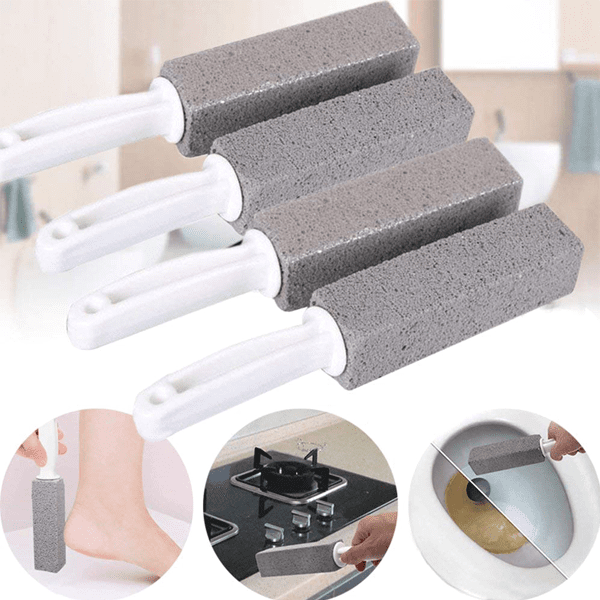 All Purpose Pumice Stone Scrubber - Erase Tough Stains In Seconds With Ease!