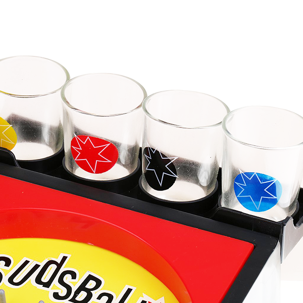 """Classical Pinball Drinking Party Game"" Adult Drinking Pinball Games With 4 Set Of Shot Glass"