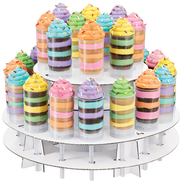 12-Piece Sweet Treats Dessert Serve & Display Set