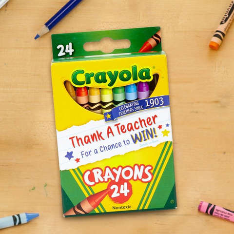 2 Packs of 24 Crayola Crayons