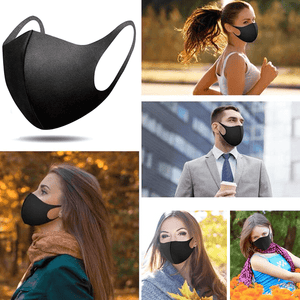3 Pack: Thick Reusable Anti-Dust Face Mask