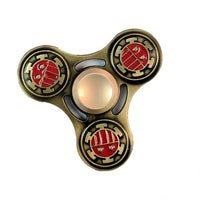 Toys - Ancient Brass Aluminum Alloy Tri-Spinner Fidget Toy