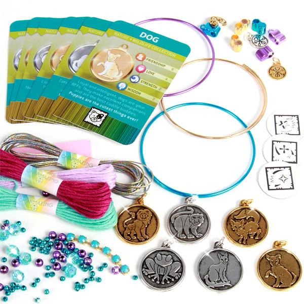 Toys - Charmazing All Wrapped Up Charm Bracelet Kit - Assorted Styles