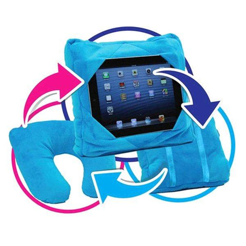 Travel - 3-in-1 Multifunctional Travel Pillow And Tablet Holder - Assorted Colors