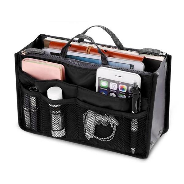 Travel - Slim Bag-in-Bag Travel Insert And Purse Organizer - Assorted Colors