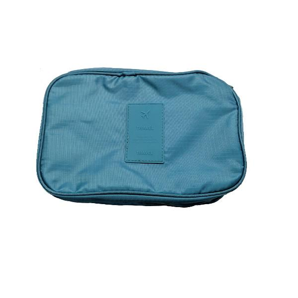 travel zippered hanging toiletry bag with removable pouch u0026 builtin