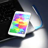 Flexible Ultra Bright USB Powered LED Reading Light - Assorted Colors!