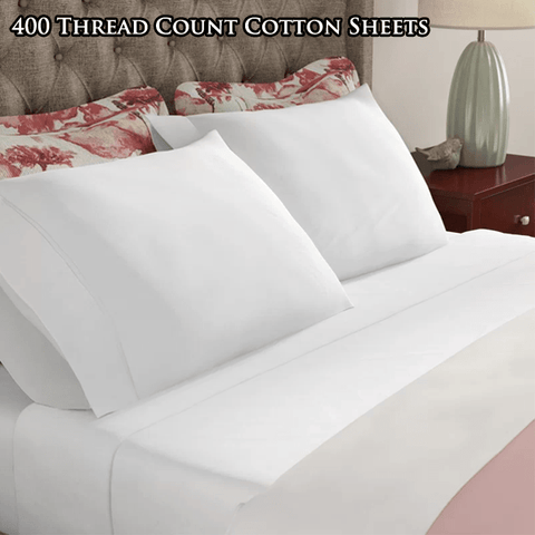 100% Mercerized Cotton Sateen Sheets
