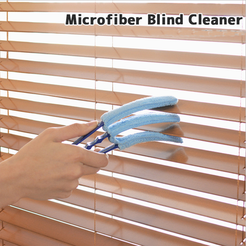 5 Pack: Microfiber Blind Cleaner