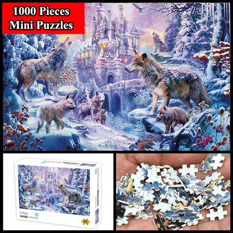 """Twilight"" 1000 Pieces Mini Jigsaw Puzzles"