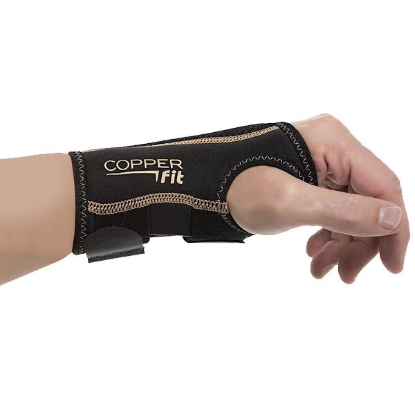 Right Hand Copper Infused Wrist Brace