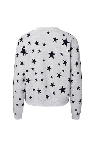 Pallas Rocket Sweater Light Grey/Blue