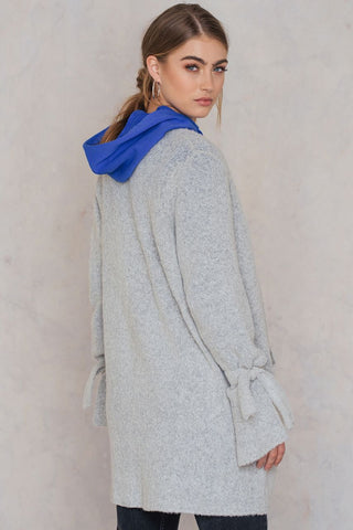 Vera Cardigan Light Grey Melange